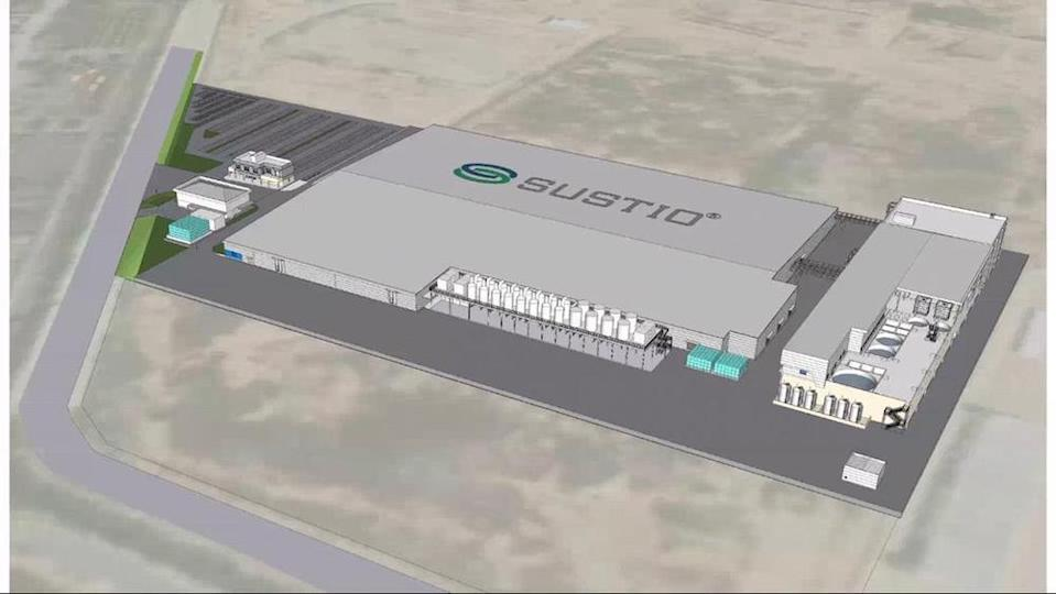 An artist's impression of the new plant in Penang. — Picture courtesy of Simmtech
