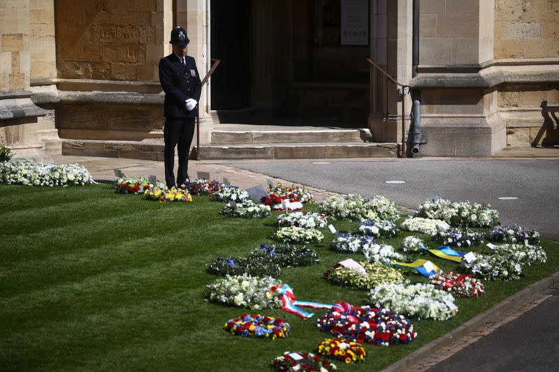 Funeral of Britain's Prince Philip in Windsor