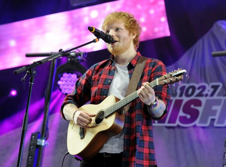 Sheeran played his first gig 14 years ago in front of 30 people