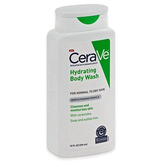 """<p><span>Cerave Hydrating Body Wash</span> ($11) contains three different ceramides that protect and restore the skin barrier to keep your skin supple and soothe irritation. """"Think of the uppermost barrier of your skin as a brick wall, with each skin cell being one brick,"""" Dr. Libby explained. """"The mortar holding the bricks together are the moisturizing factors and lipids, i.e. your ceramides, fatty acids, and cholesterol."""" When those ceramides are disrupted in any way, like what happens when you get a tattoo, using a soap that adds more ceramides will boost healing.</p>"""