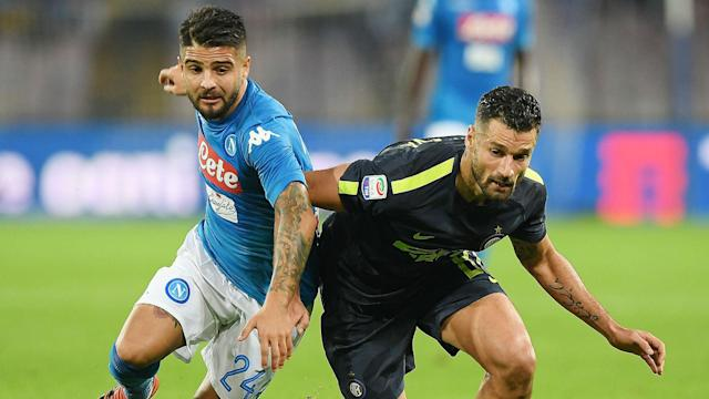 Inter goalkeeper Samir Handanovic defied the Serie A leaders as Napoli were denied a ninth straight league win.