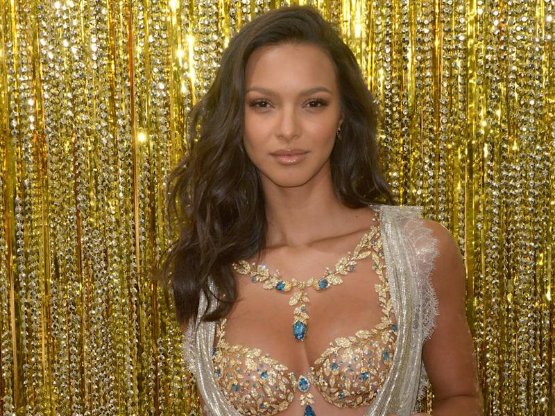 Lais Ribeiro cried when she first tried on Victoria s Secret Fantasy Bra 14c243f81