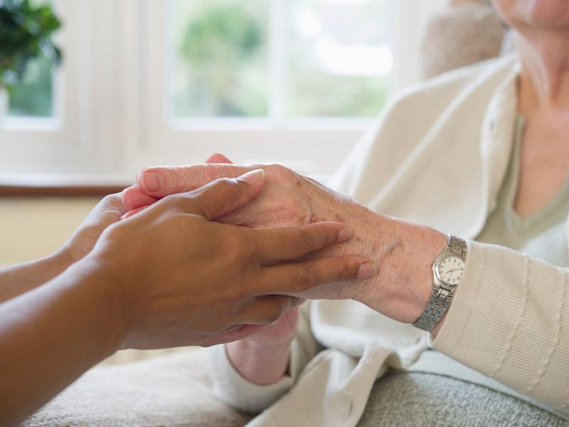 Ten per cent of care home staff are supplied by agencies but under a new government pilot scheme, the number of homes in which they can work will be limited ( )