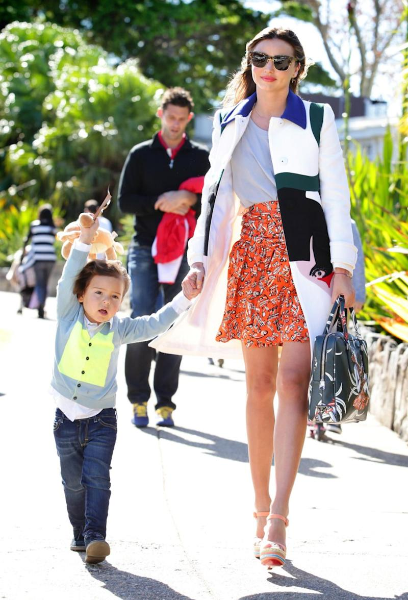 Miranda Kerr's son Finn has one of the most popular baby names for next year. Photo: Getty