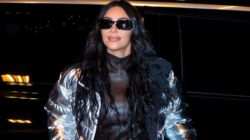 Kim Kardashian Spends New Year's Eve on Family Ski Trip in Wyoming -- See the Pics!