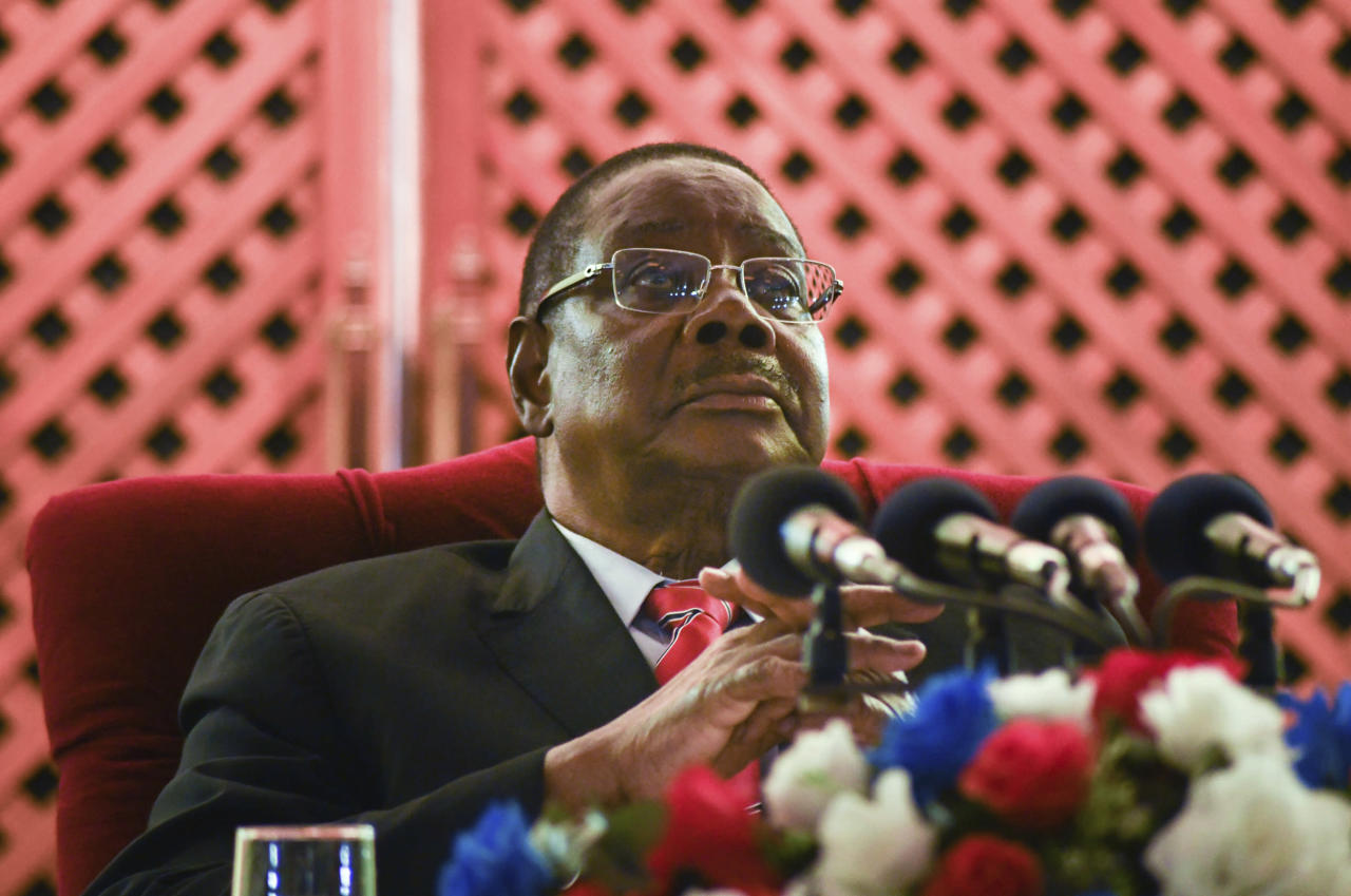 Malawi leader blasts vote rerun as opposition poised to win