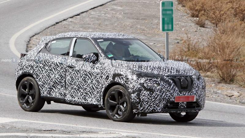 2020 Nissan Juke Loses Heavy Camo Spied Testing In Europe