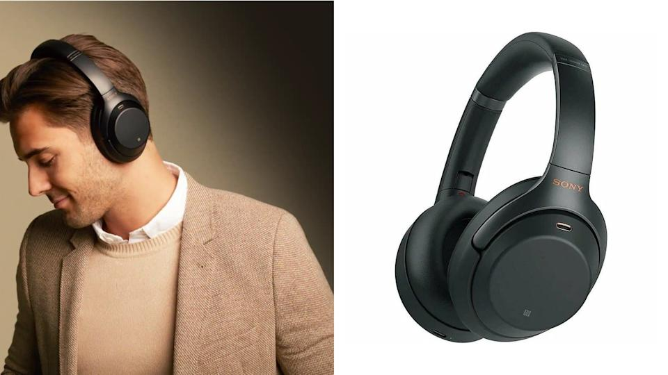 The traditional style of over-the-ear headphones combines with the latest audio technologies to create one trustworthy device. (Photo: Sony)