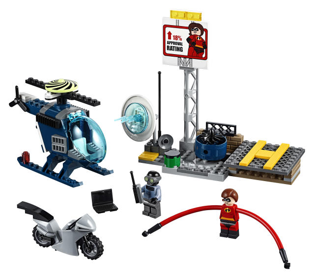 <p>Lego Juniors Elastigirl's Rooftop Pursuit, $19.95. (Photo: Courtesy of Disney Products and Interactive Media) </p>