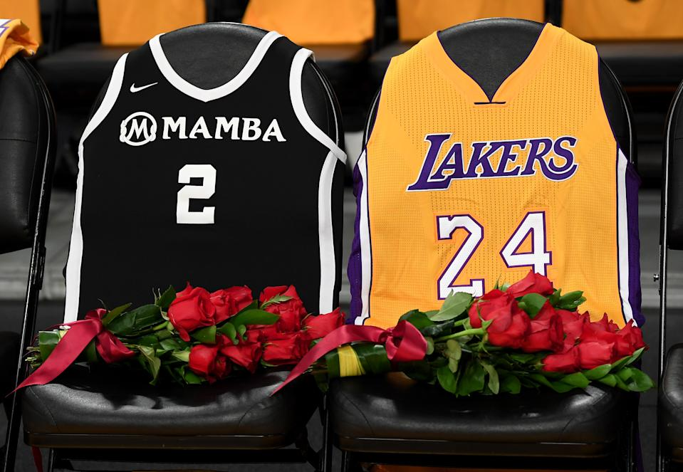 Report Lakers Plan To Wear Black Mamba Jerseys In Honor Of Kobe Bryant In Playoffs