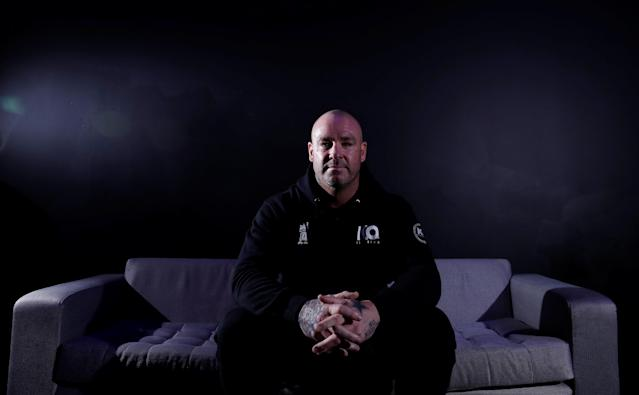 Boxing - Dillian Whyte and Lucas Browne Press Conference - The O2, London, Britain - March 22, 2018 Lucas Browne poses after the press conference Action Images via Reuters/Andrew Couldridge