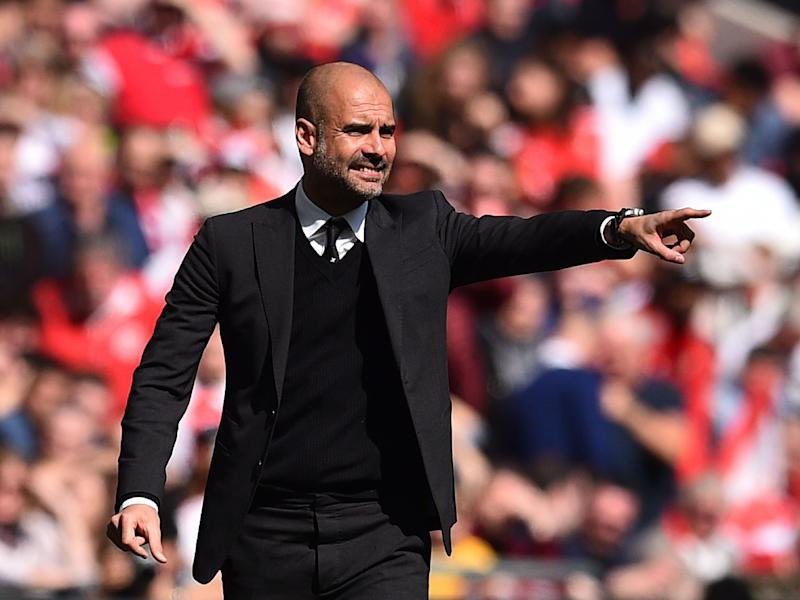 Pep Guardiola has a simple six-word answer for why Manchester City hadn't won a trophy this season: Getty
