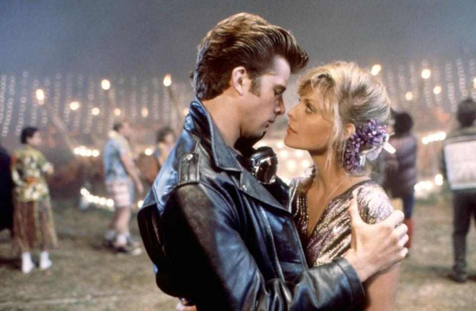 """<p>I have long held that I will die on the hill that this sequel is superior to the original with John Travolta and Olivia Newton-John. <em>Grease 2</em> flips the script and makes Michelle Pfeiffer the coolest girl in school, with a boy (Maxwell Caulfield) trying to change to make himself a match for her. I swear I started chewing gum so I could be like Stephanie Zinone and I can still sing every world to """"Cool Rider."""" Sandy, who? — <em>Abby Gardner, contributing writer</em></p> <p><a href=""""https://www.amazon.com/Grease-2-Maxwell-Caulfield/dp/B001K38LYI"""" rel=""""nofollow noopener"""" target=""""_blank"""" data-ylk=""""slk:Stream on Amazon Prime Video"""" class=""""link rapid-noclick-resp""""><em>Stream on Amazon Prime Video</em></a></p>"""