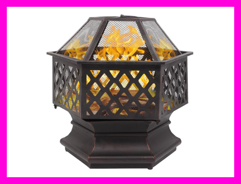 Save a whopping $246 on this Zimtown Outdoor Fire Pit. (Photo: Walmart)