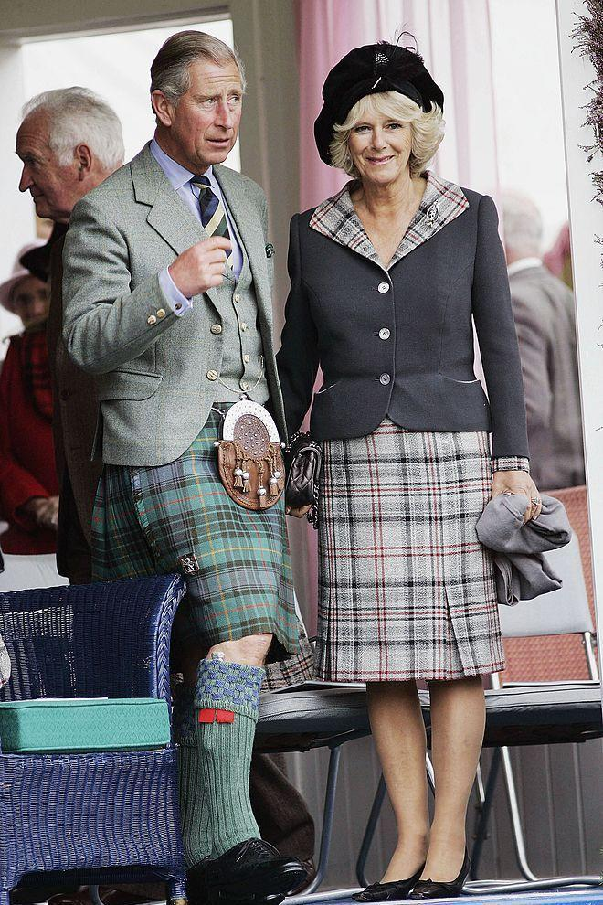 <p>Looks like Camilla gets to wear the special tartan, too.</p>