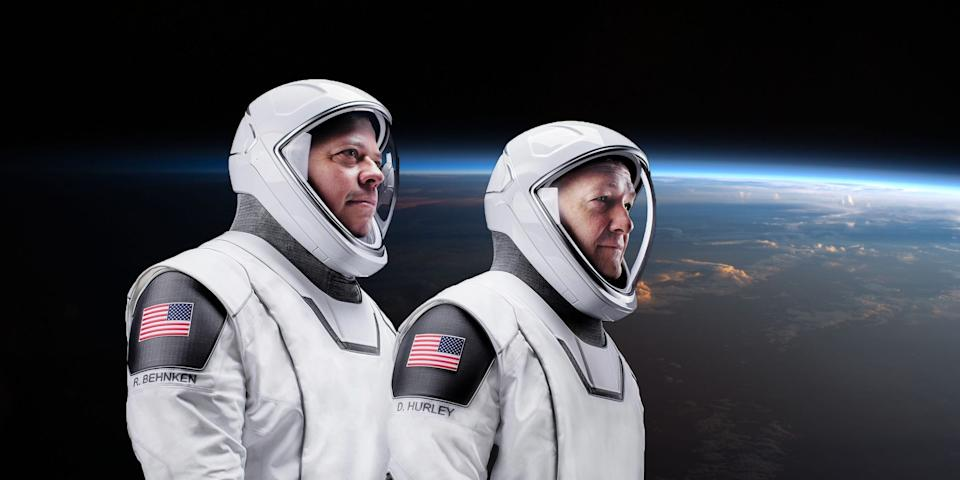 NASA astronauts Doug Hurley and Bob Behnken are the first humans SpaceX rocketed into orbit.