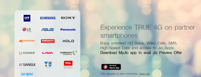 Reliance Jio 4G release details revealed