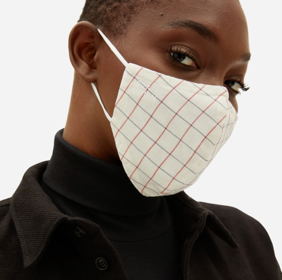 Save big on Everlane's famous '100% Human' face masks right now