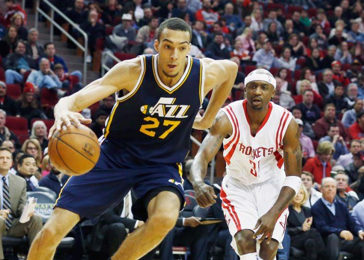 Rudy Gobert is known for defense and rebounding. (Getty Images)