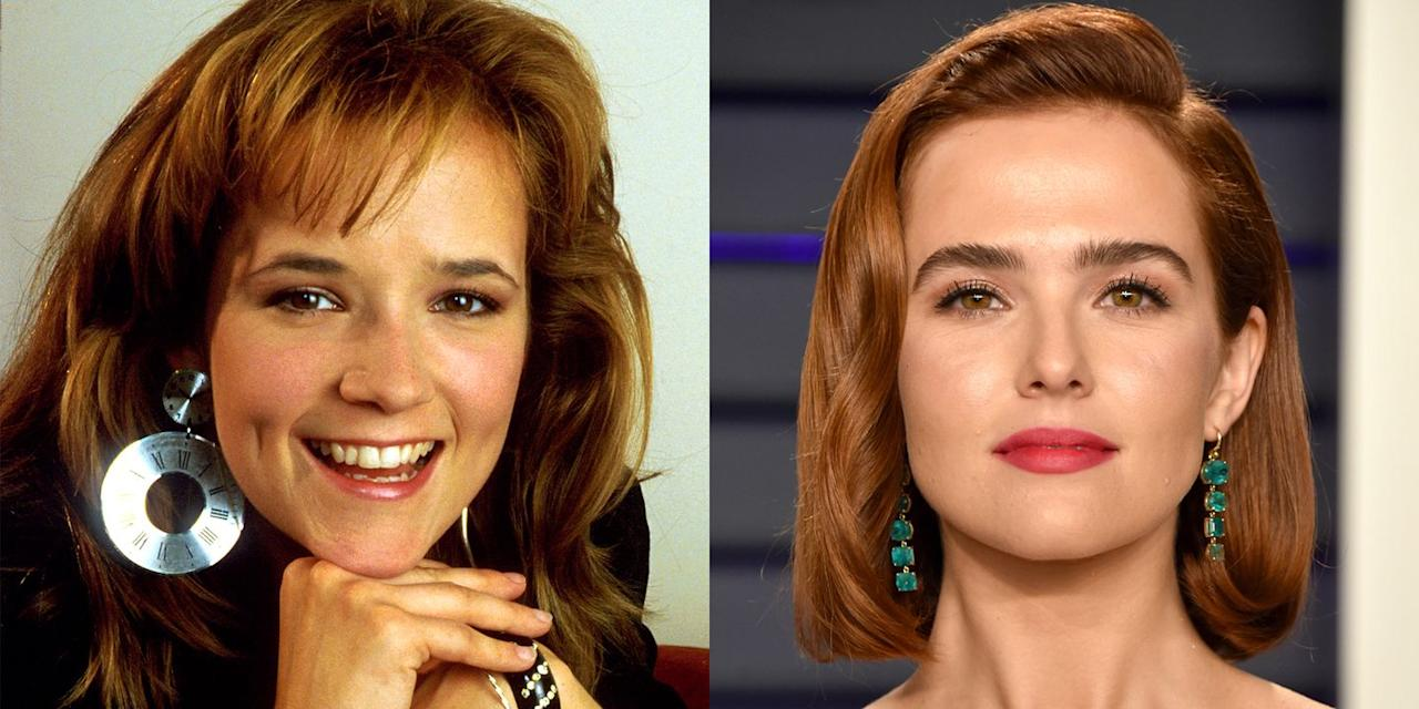 <p>At age 25, Lea Thompson was enjoying her big break in Hollywood, starring in movies like <em>Back to the Future </em>and <em>Howard the Duck</em>. The following year, she would go on to meet her husband, director Howard Deutch on the movie <em>Some Kind of Wonderful</em>. Their daughter Zoey has similarly been booking high-profile roles in Netflix's <em>Set It Up </em>and the Ryan Murphy series <em>The Politician</em>.<em></em><em></em><em></em><em></em><em></em></p>