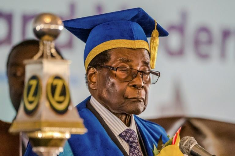 Zimbabwe President Robert Mugabe's 37-year grip on power was broken last week when the army staged a military takeover