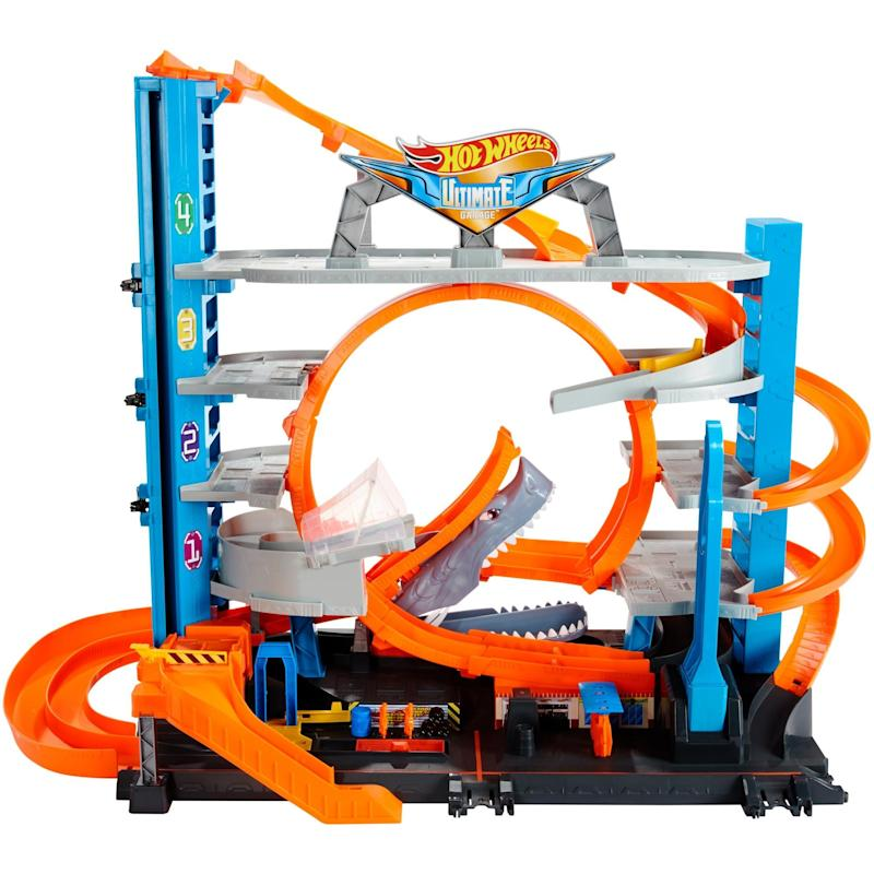 Hot Wheels Ultimate Garage Tower Shark Loop Racetrack. (Photo: Walmart)