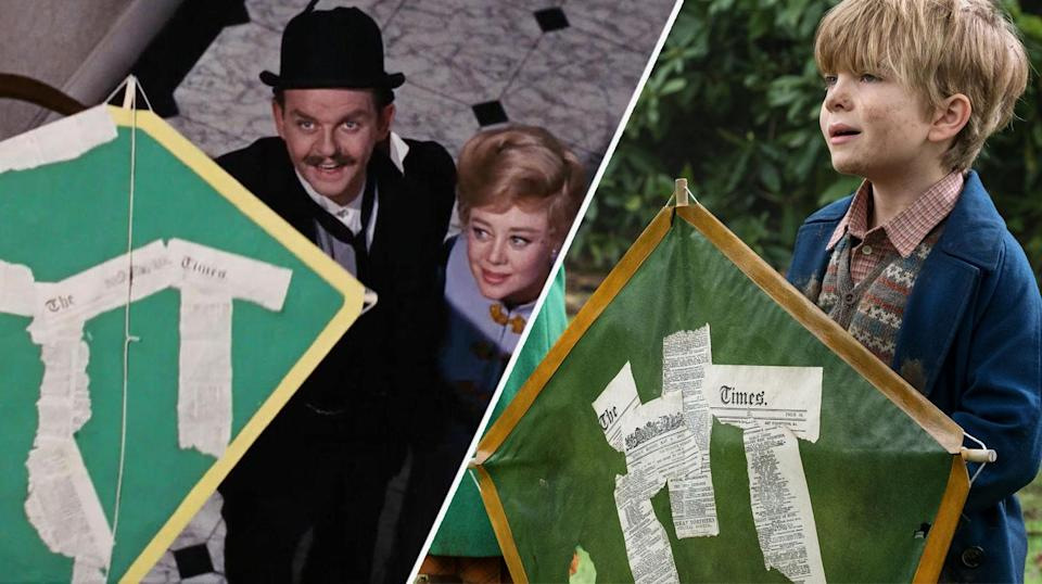 Joel Dawson as Georgie Banks, who inherited his name from his grandfather, played by David Tomlinson (Disney)