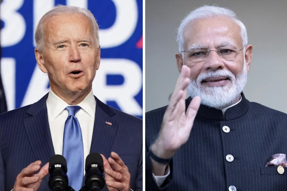 PM Modi Discusses Covid Situation With President Biden