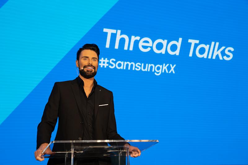 Rylan Clark-Neal hosted his Thread Talks performance at Samsung KX on Wednesday 22nd January (CPG Photography Ltd)