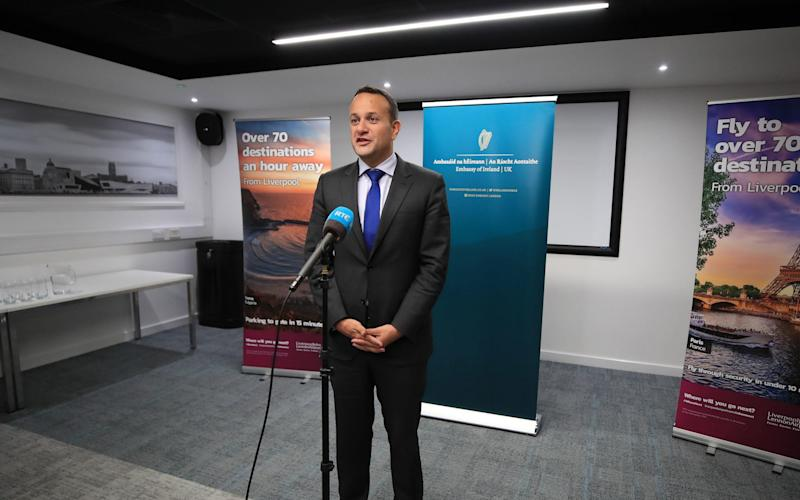 """Irish Taoiseach Leo Varadkar says a Brexit deal is """"possible"""" this month - PA"""