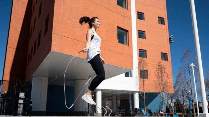Up your cardio game with a jump rope.