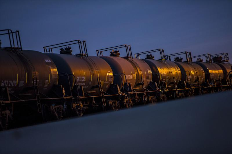 """(Bloomberg) -- Oil skeptics are gaining ground fast as the outlook for global demand worsens.Hedge funds boosted their bets by 46% that West Texas Intermediate crude will fall, the biggest increase since August, according to U.S. Commodity Futures Trading Commission data for the week ended June 11. The balance between bullish and bearish wagers was the most pessimistic since February.""""Outside the United States it's unmistakable world growth is slowing down,"""" said Bill O'Grady, chief market strategist at Confluence Investment Management LLC in St. Louis. """"The more trade tensions arise, the greater the likelihood that growth is slow, and if Chinese growth slows, it's not good for oil.""""Crude has entered into bear market territory this month, dropping more than 20% from an April peak as tensions escalate between the U.S. and China, the world's two largest energy consumers.Meanwhile, U.S. crude storage tanks are at their fullest in almost two years, and the International Energy Agency said global supplies will swamp demand next year, further pressuring OPEC.Tension in the Middle East gave prices some support, but not enough to prevent futures in New York from closing 2.7% lower for the week, settling at $52.51 a barrel on Friday.""""It is a little unusual to see oil prices falling in front of a weekend with these kind of geopolitical risks out there,"""" O'Grady said.The net-long WTI position -- the difference between bets on a price increase and wagers on a decline -- fell 29% to 129,416 futures and options contracts, the CFTC said. Long positions fell 12%.To contact the reporter on this story: Rita Devlin Marier in San Francisco at rdevlin5@bloomberg.netTo contact the editors responsible for this story: Simon Casey at scasey4@bloomberg.net, Carlos Caminada, Joe CarrollFor more articles like this, please visit us at bloomberg.com©2019 Bloomberg L.P."""