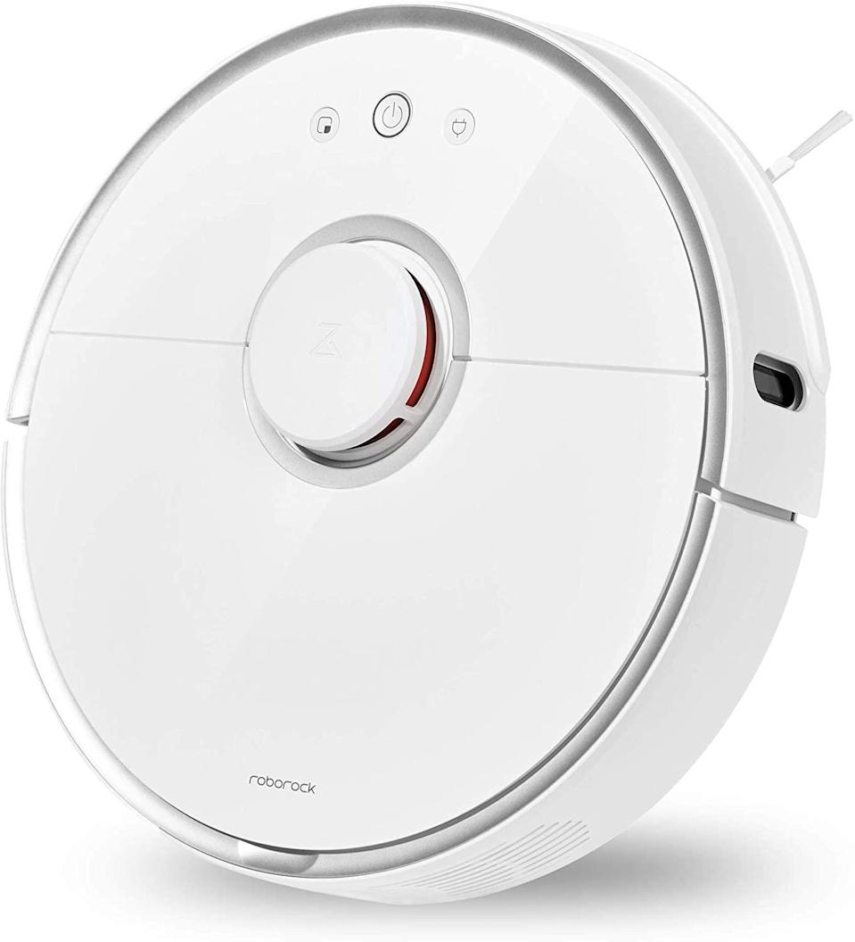 """<br><br><strong>roborock</strong> S5 Robotic Vacuum and Mop Cleaner, $, available at <a href=""""https://www.amazon.com/dp/B0792BWMV4/ref=as_li_ss_tl"""" rel=""""nofollow noopener"""" target=""""_blank"""" data-ylk=""""slk:Amazon"""" class=""""link rapid-noclick-resp"""">Amazon</a>"""