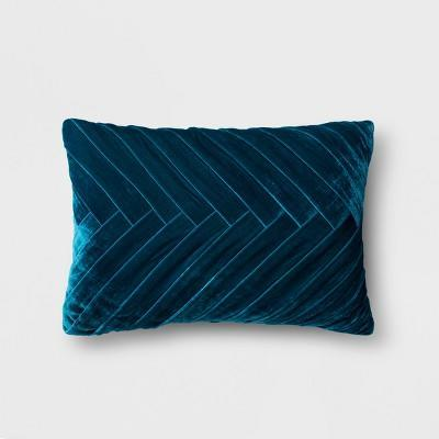 """<strong>Style Says: """"Oh, You Fancy!""""</strong><br>All it takes to transform tiny apartments into regal castles is the strategic placement of one elegant, pleated-velvet lumbar pillow.<br><br><strong>Opalhouse</strong> Pleated Velvet Lumbar Pillow™, $, available at <a href=""""https://go.skimresources.com/?id=30283X879131&url=https%3A%2F%2Fwww.target.com%2Fp%2Fpleated-velvet-lumbar-pillow-opalhouse-153%2F-%2FA-53100056"""" rel=""""nofollow noopener"""" target=""""_blank"""" data-ylk=""""slk:Target"""" class=""""link rapid-noclick-resp"""">Target</a>"""
