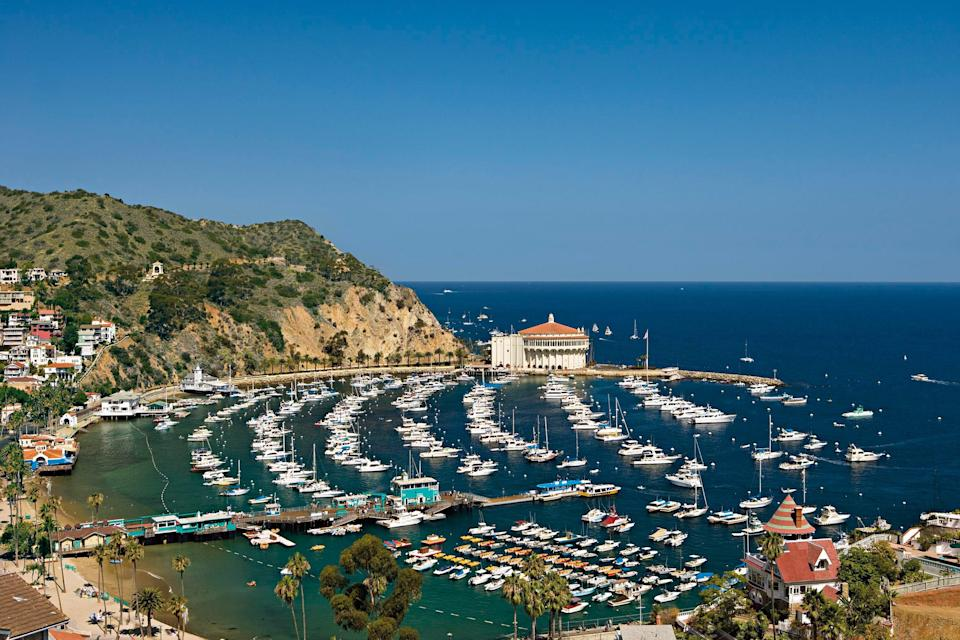 Catalina Island is the only California municipality permitted by the state to limit the number and size of cars in use. Residents get around by golf cart, bike, or foot.