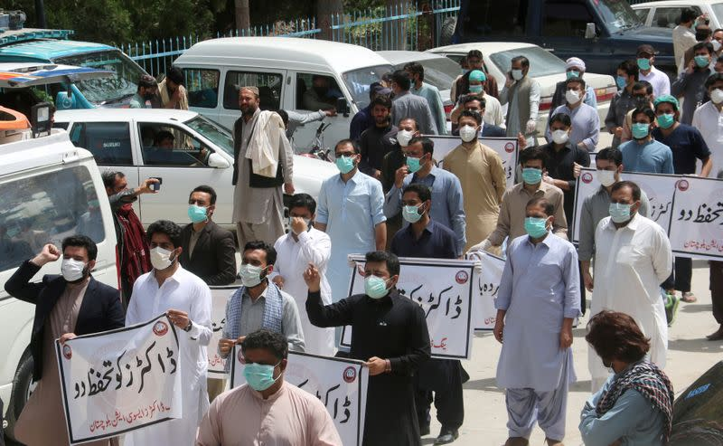 FILE PHOTO: Outbreak of the coronavirus disease (COVID-19), in Quetta