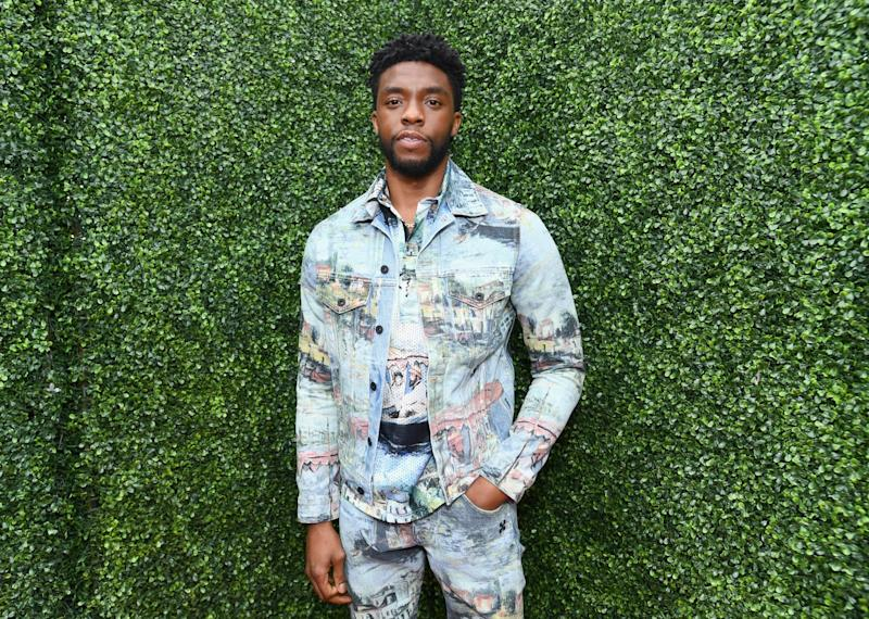 Chadwick Boseman en juin 2018 - Emma McIntyre / GETTY IMAGES NORTH AMERICA / Getty Images via AFP