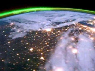 A German pieced together some time-lapse photos from the International Space Station that CNN made available. The video shows the Northern Lights, at some points over the United States, from August to October.