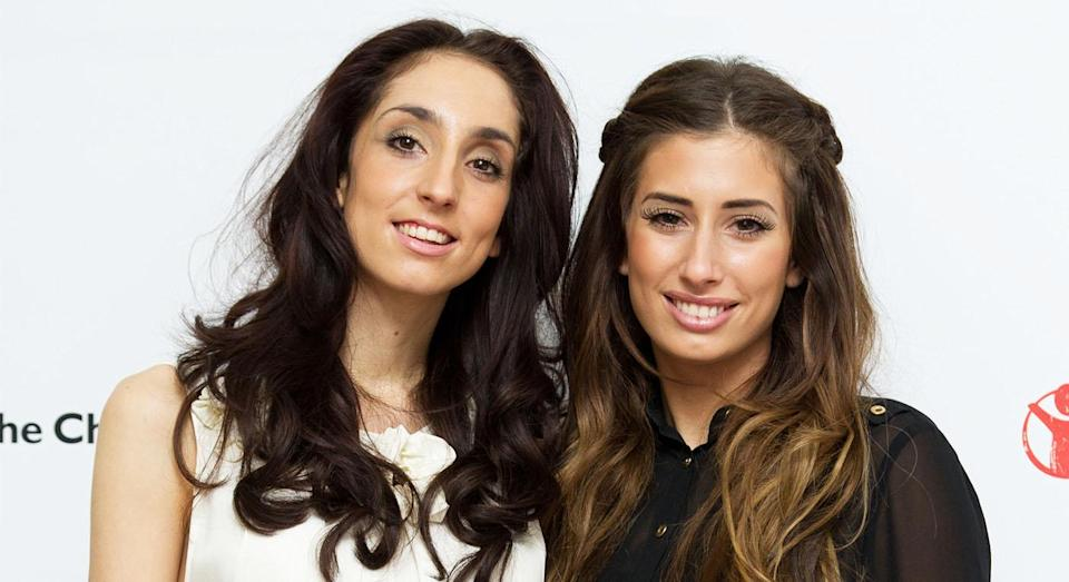 Stacey Solomon pictured with her sister Jemma. [Photo: Getty]