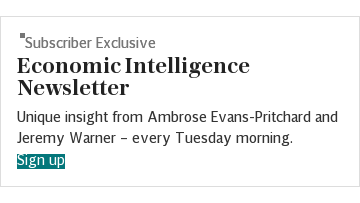 Economic Intelligence newsletter SUBSCRIBER (index)