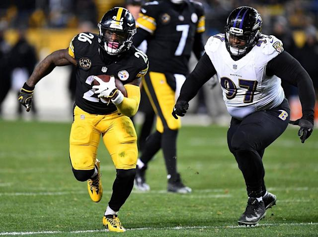 Le'Veon Bell will need a big game against the Jags' fearsome defence (Getty)