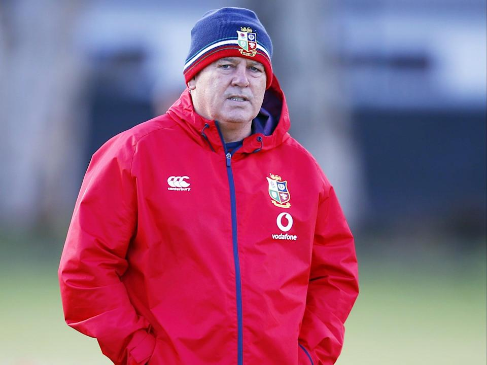 Warren Gatland has brought forward the Lions' team announcement by 24 hours (PA Wire)
