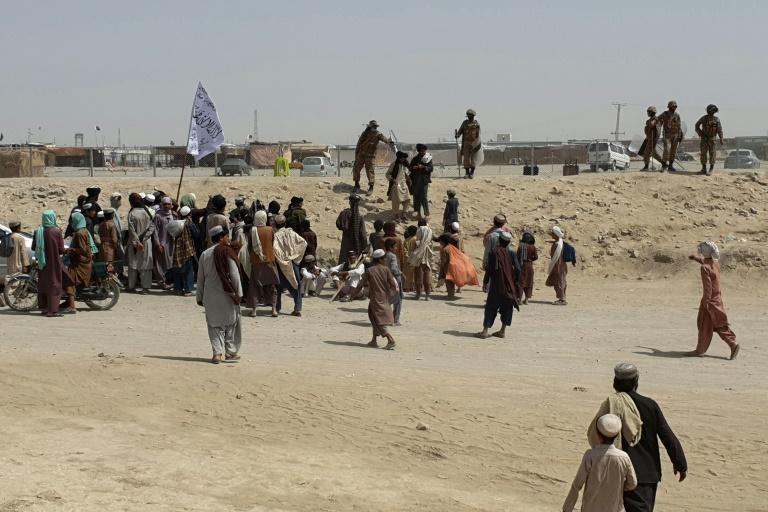 There have been clashes on the Afghanistan-Pakistan border