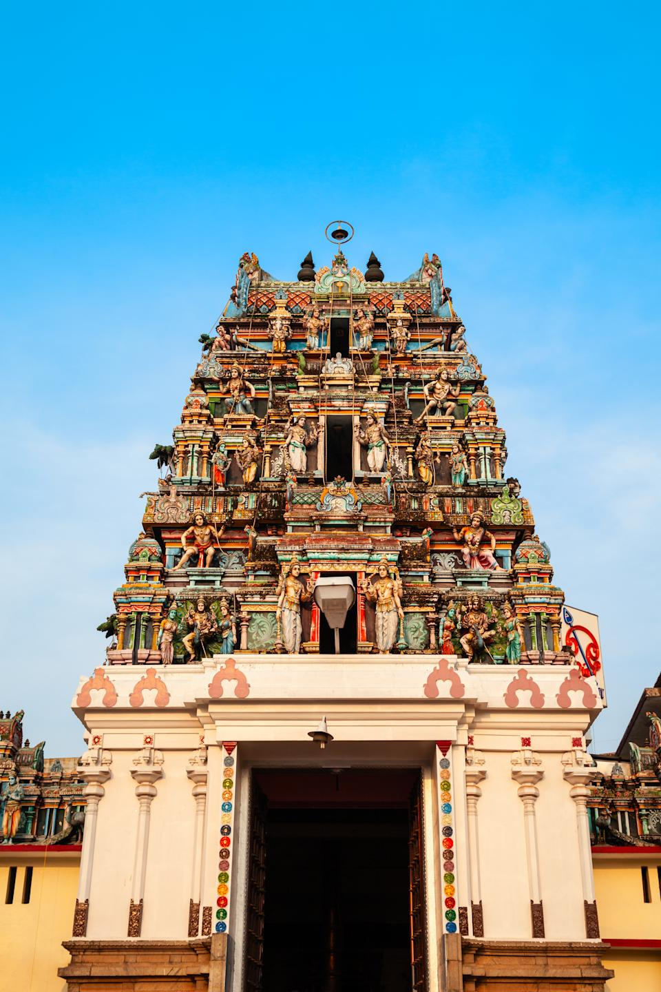 Murugan Temple is a part of Ernakulam Shiva Temple, one of the major temples of Kerala located in Cochin city, India