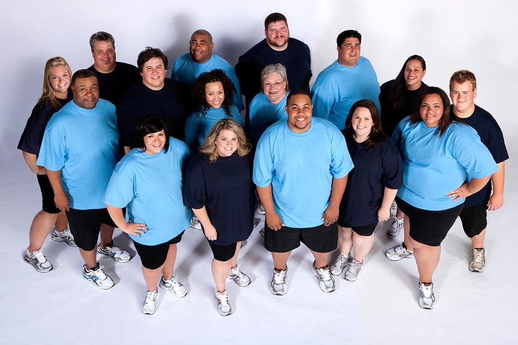 "The cast of the eighth season of <a href=""/biggest-loser/show/37103"">""The Biggest Loser.""</a>"