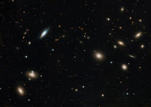 This 2008 handout photo from NASA shows the Coma Cluster of galaxies captured by the Hubble Space Telescope