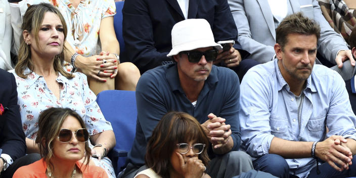 Savannah reveals details of her sitting next to Brad Pitt and Bradley Cooper at US Open