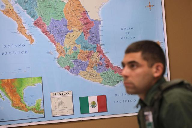 <p>A new Border Patrol agent attends a Spanish class at the U.S. Border Patrol Academy on August 2, 2017 in Artesia, N.M. (Photo: John Moore/Getty Images) </p>