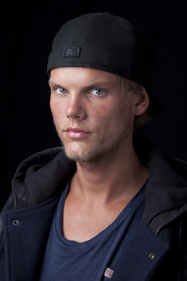 Swedish DJ-producer Avicii, shown here in New York in 2013, was found dead Friday in Muscat, Oman. He was 28. (Photo by Amy Sussman/Invision/AP, File)