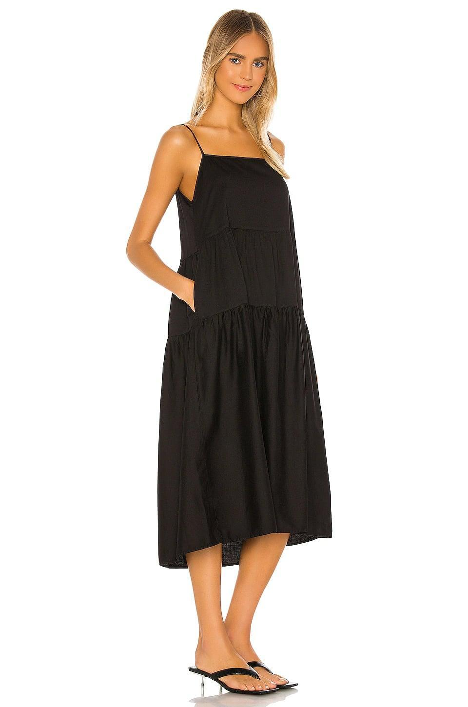 <p>You can't go wrong with this classic <span>Enza Costa Cotton Tiered Dress</span> ($264).</p>